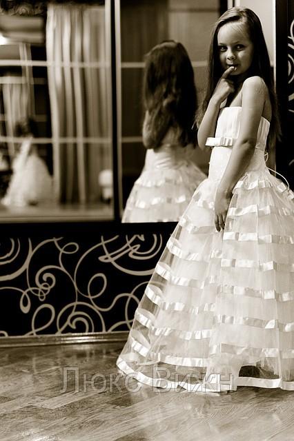 как шить пышную платье девочки