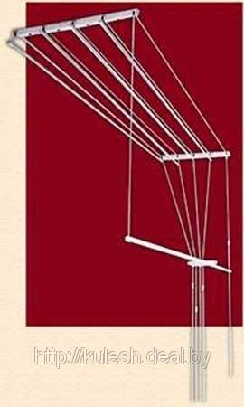Рушилка для белья, потолочная, ЛИАНА, 1,5 м (сушилка для белья лиана.